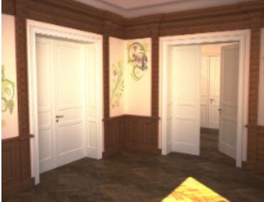 Ispirata alle abitazione d epoca viennesi nuova porta for Rubner porte