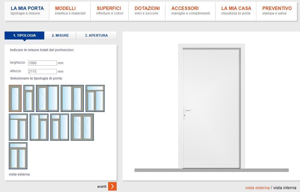 Per creare la porta della propria casa in modo pratico e for Creare la propria casa