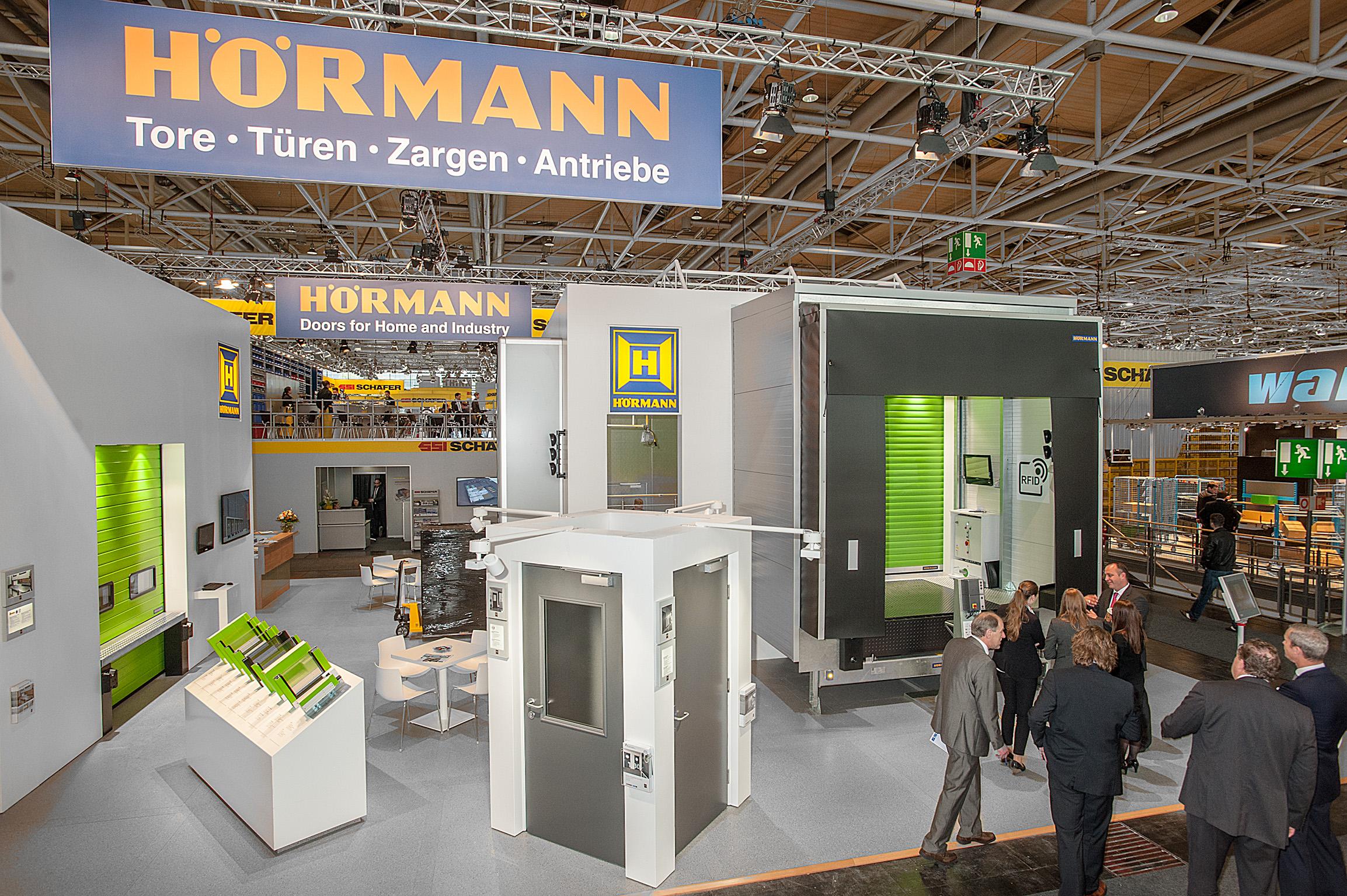 Hörmann Hannover innovative soluzioni per l intralogistica presentate da hormann ad