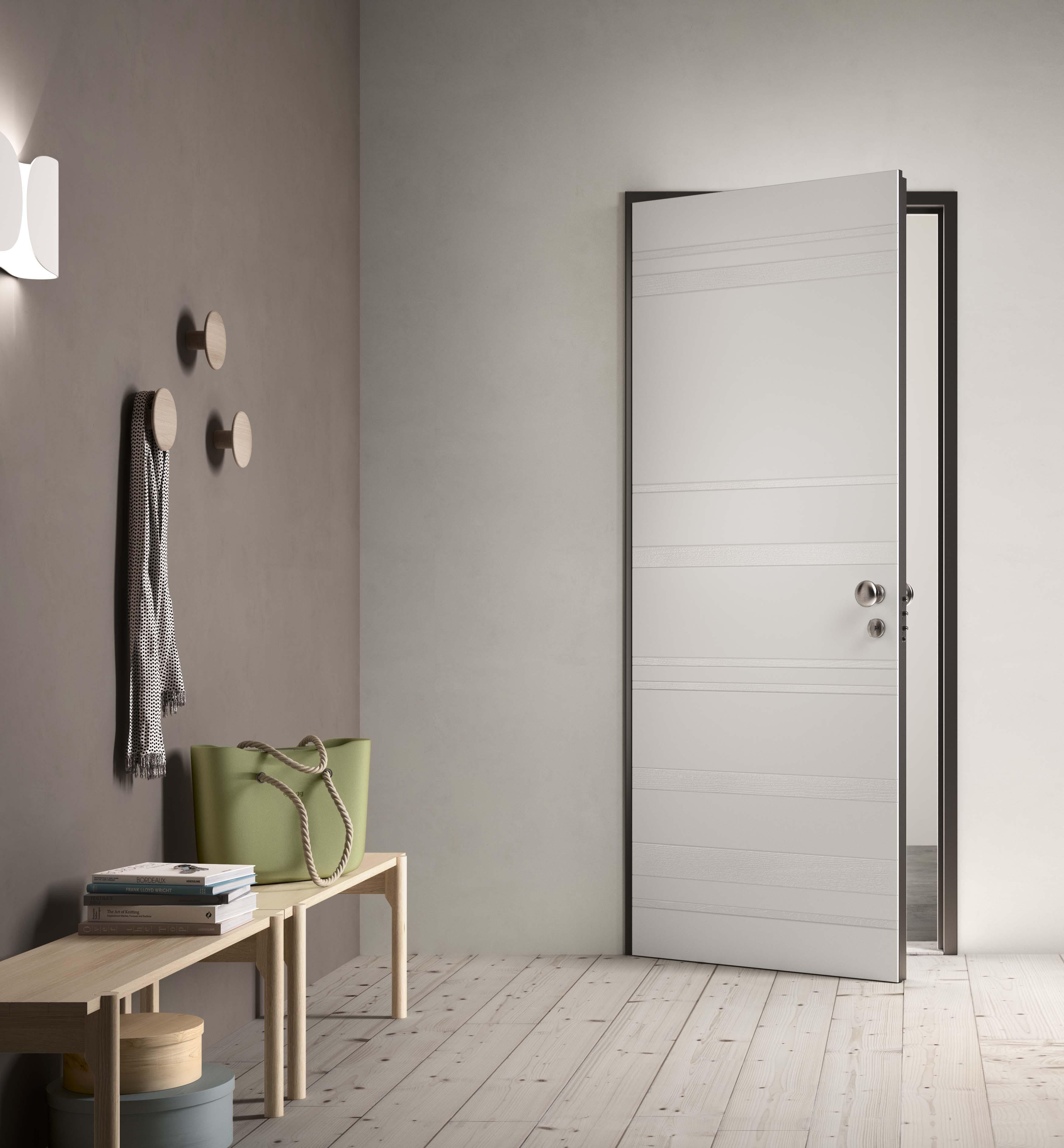 Rivestimento per i portoncini blindati che regala stile e armonia alla casa serramenti design - Porte per ingresso casa ...