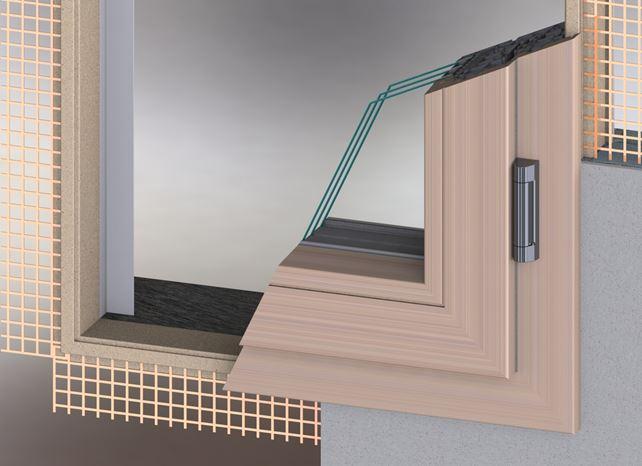 Nuovo controtelaio isolato adatto a qualsiasi serramento in mostra a bolzano serramenti design - Montaggio finestre pvc senza controtelaio ...