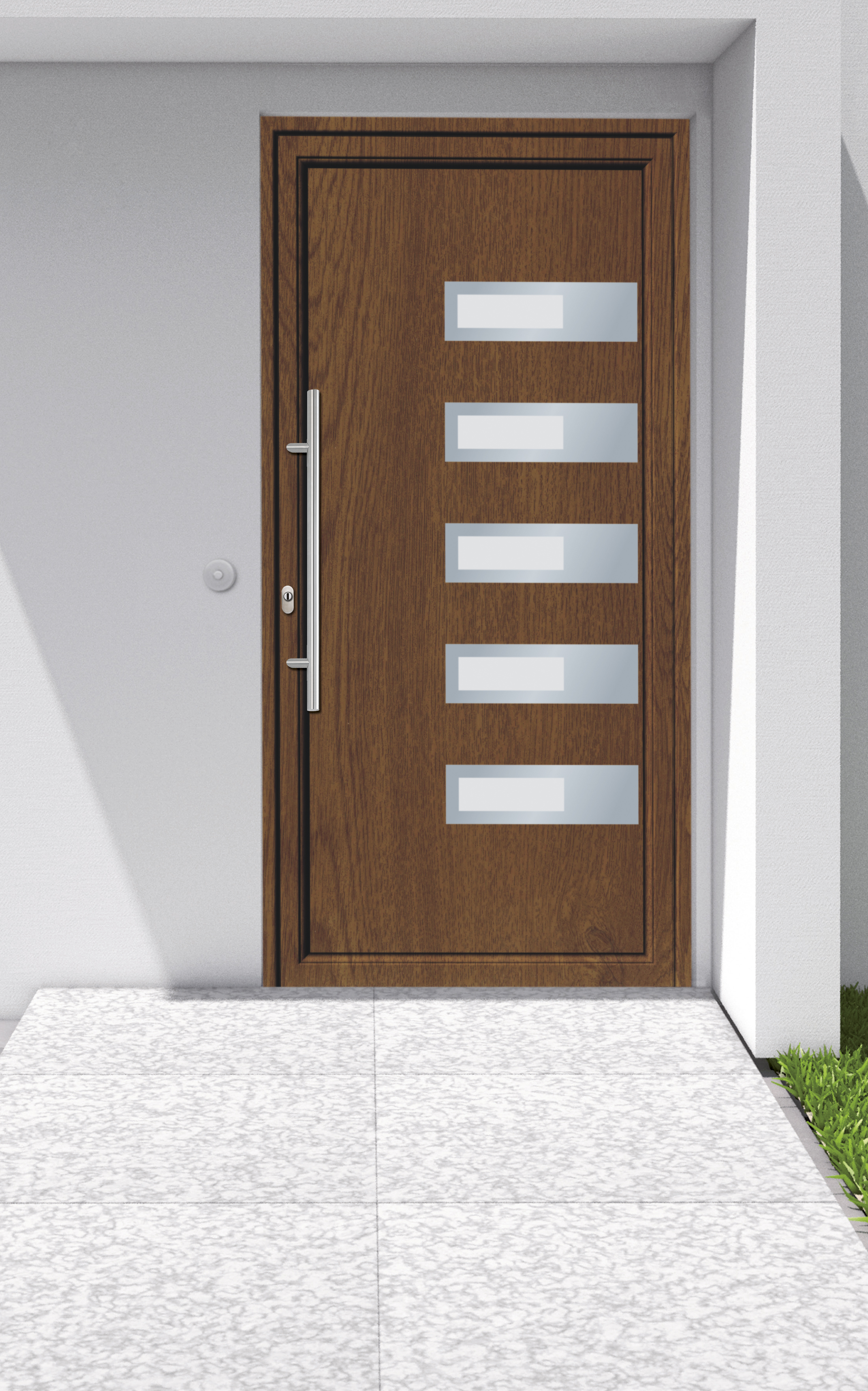 Porte d 39 ingresso securo l 39 innovazione a becco a - Maniglia porta ingresso ...