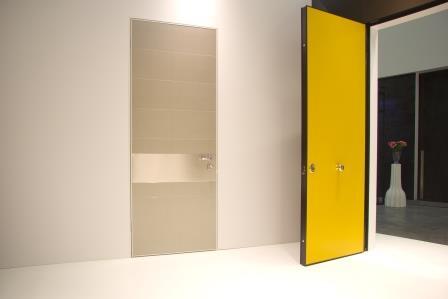 Porta di sicurezza per interni di nuova concezione for Oikos colori interni