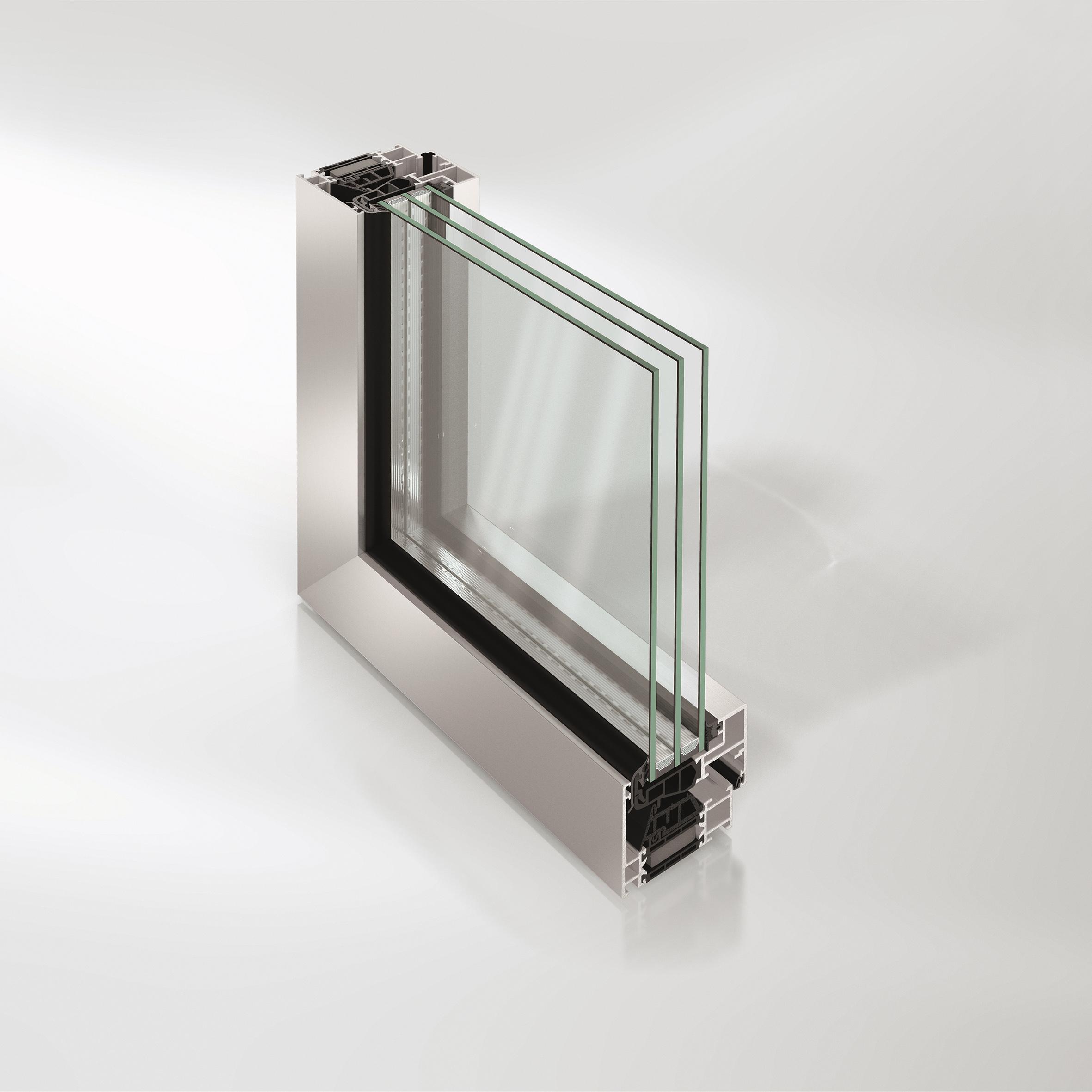 Nuovi sistemi per finestre e porte finestra con profili - Finestre schuco dwg ...