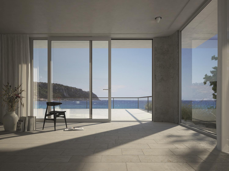 Nuovi sistemi per finestre e porte finestra con profili - Profili alluminio per finestre ...
