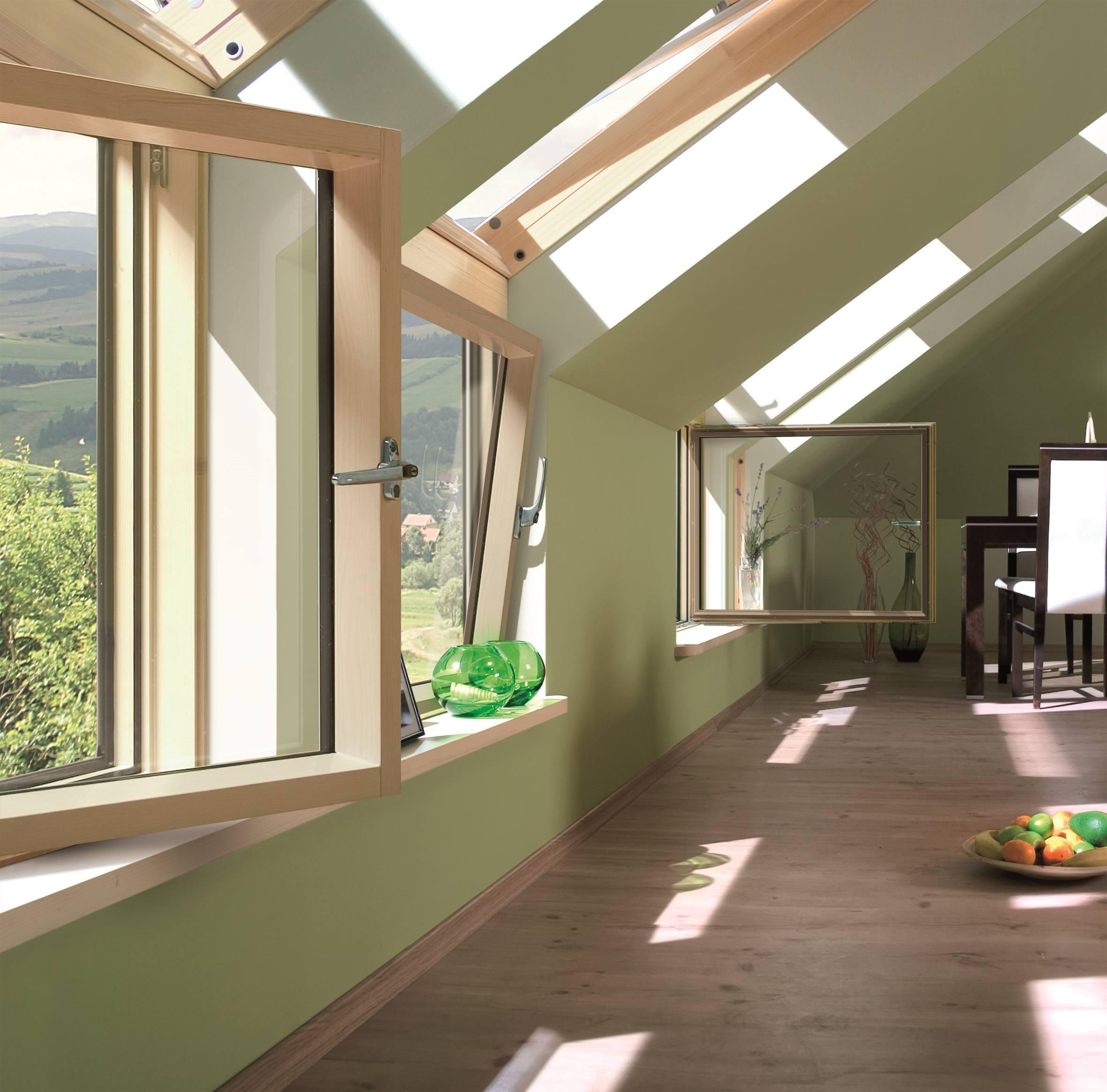 Nuova ed originale finestra ad angolo per mansarda in tre - Finestre mansarda prezzi ...