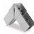 Innovativa squadretta in alluminio che rende stabili gli infissi in PVC anche di notevoli dimensioni
