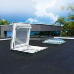 finestra per tetti piatti DR_