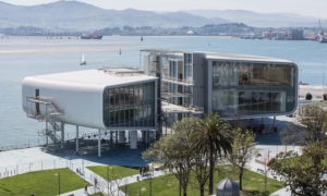 Centro Botín di Santander. Schermature per avveniristica architettura museale