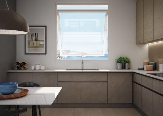 """Presentata Prolux Swing: la nuova basculante finestra """"salvaspazio"""""""