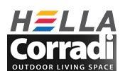 Hella acquisice Corradi Outdoor Living Space. Programmate ... on Corradi Living Space id=16490