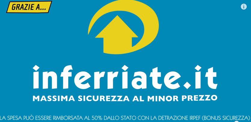 Inferriate di sicurezza online nuovo portale per creare for Creare la propria casa