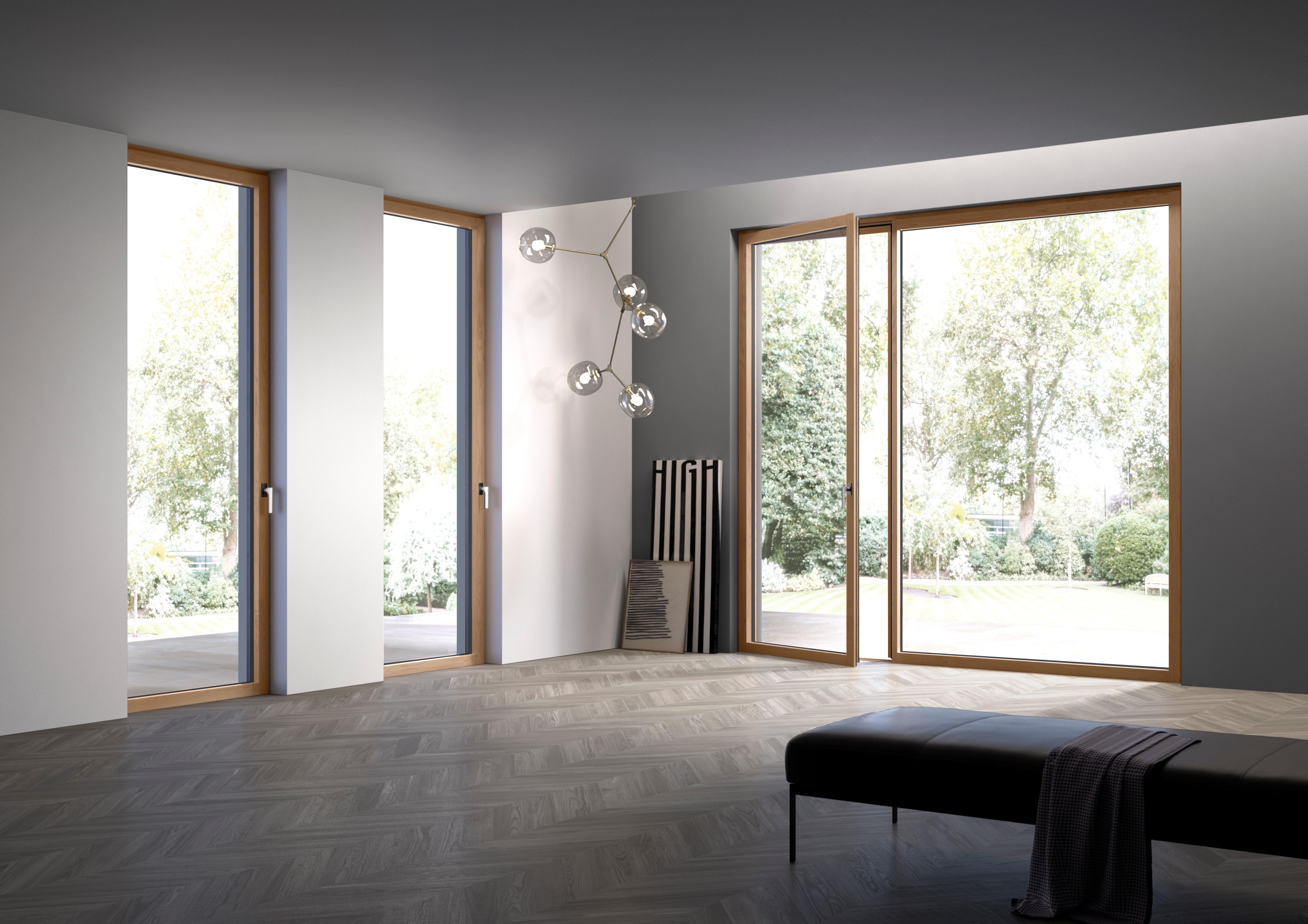 Nuove finestre hidden meno ingombro pi luce e design ad alto risparmio energetico - De carlo finestre ...