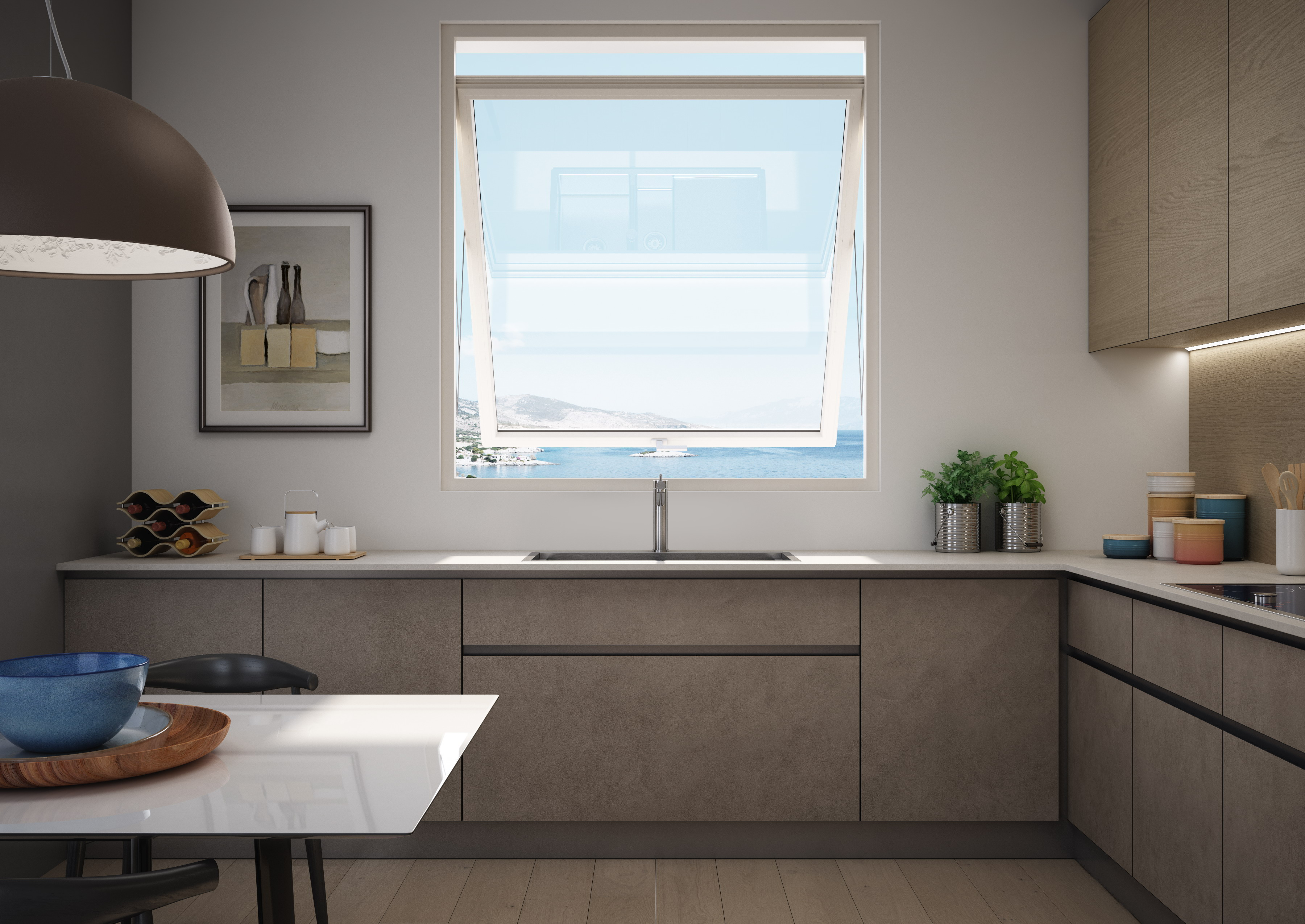 Presentata prolux swing la nuova basculante finestra for Finestra basculante