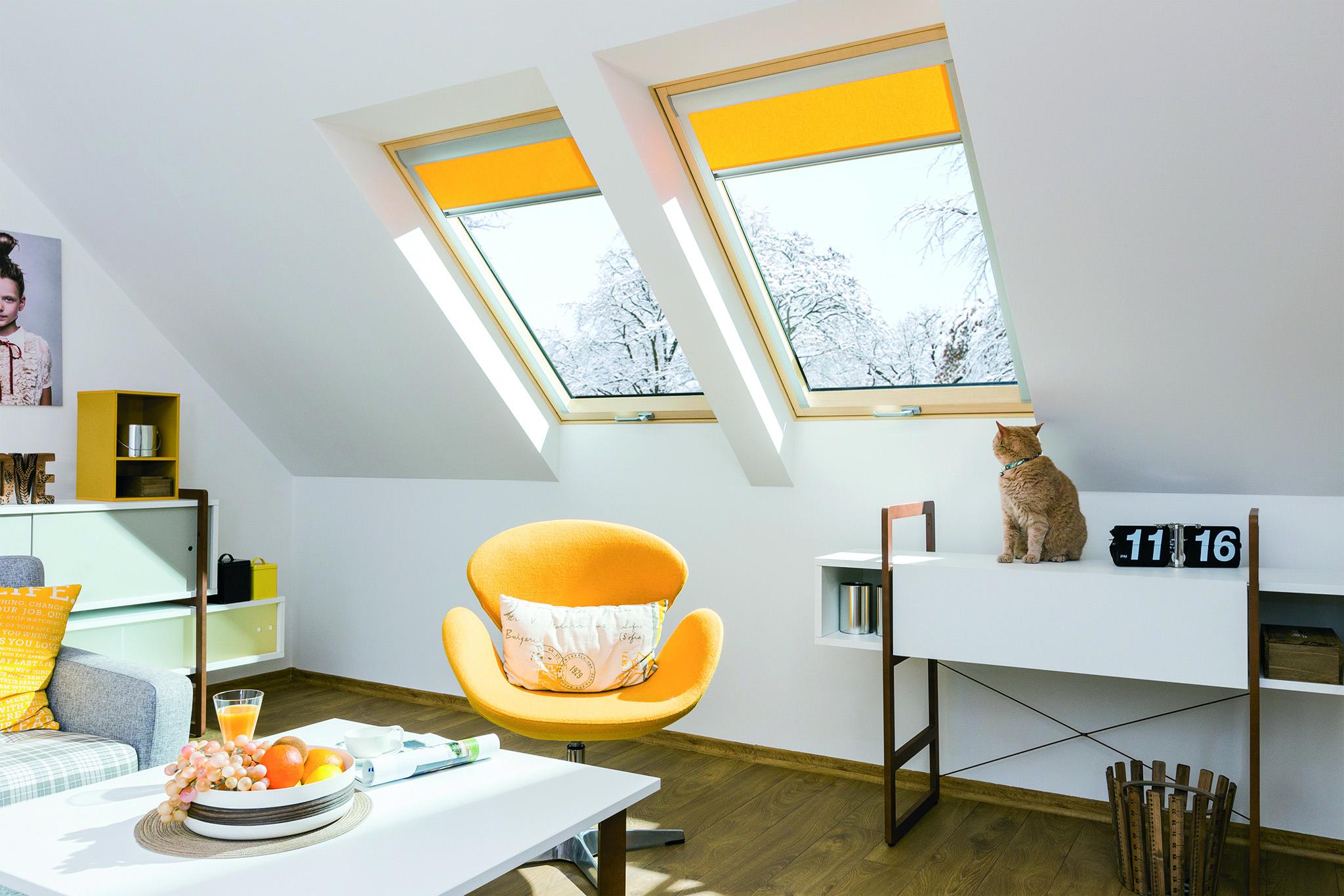 La performance energetica raggiunge il suo vertice for Finestra nel tetto