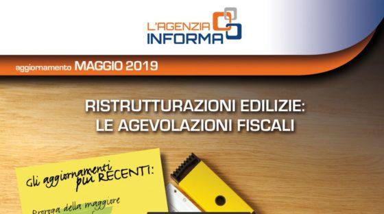 Aggiornamento Guida alle agevolazioni fiscali