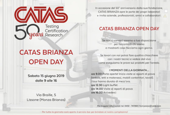 Catas Brianza Open Day