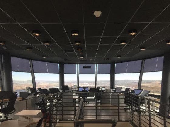 Nice a Istanbul. nell'immagine la torre di controllo del novo aeroporto