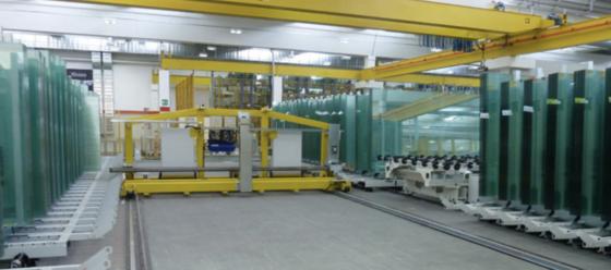 Lavorazione vetro . Definita partnership tra Intermac e Movetro