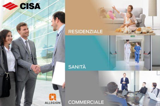CISA e SimonsVoss a Sicurezza 2019