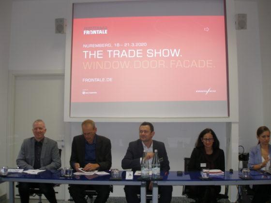 conferenza stampa Fensterbau Frontale e Holz-Handwerk 2020