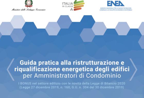 Riqualificazione condomini: online guida ENEA per amministratori
