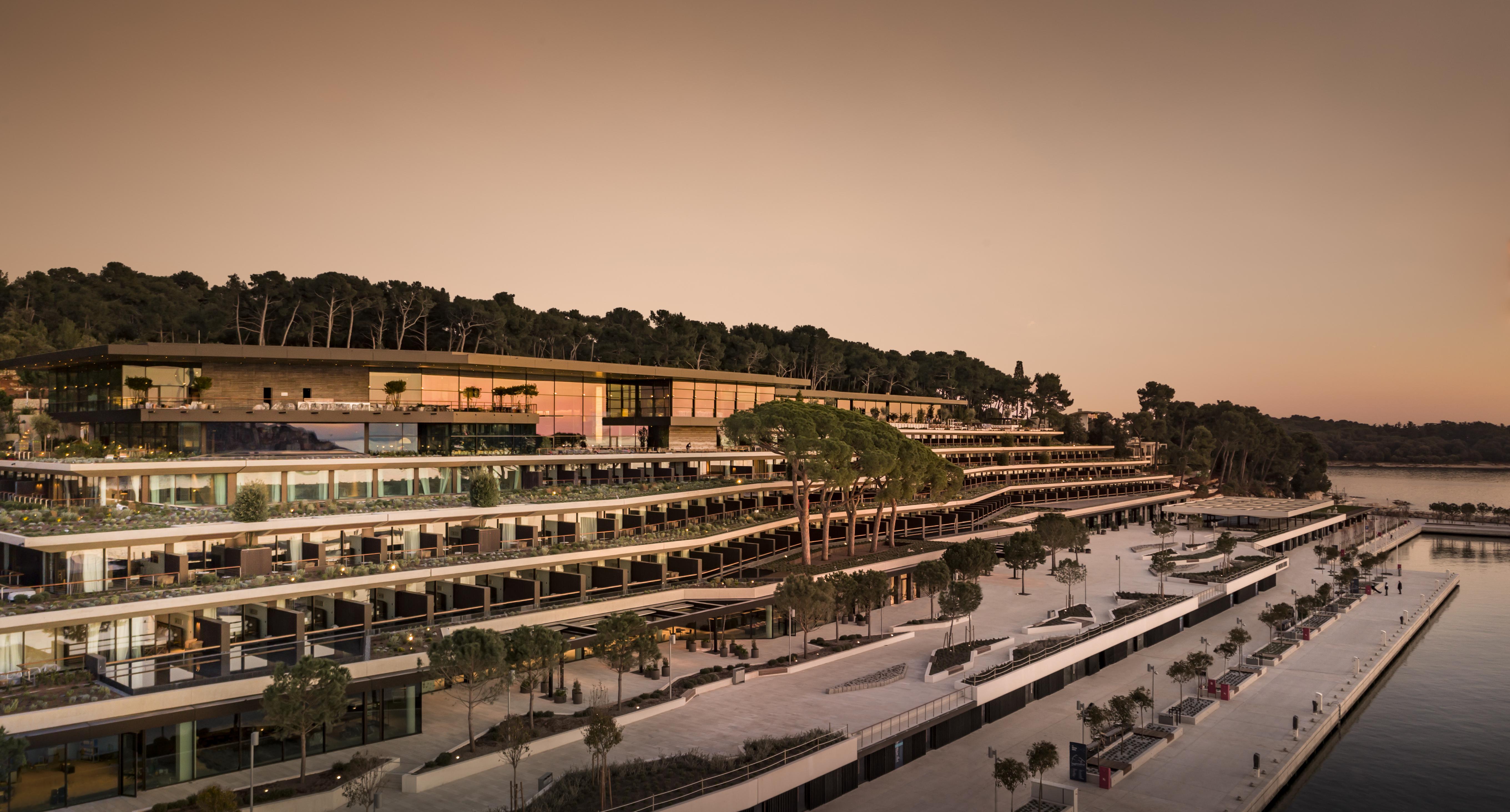 Grand Park Hotel Rovinj  e il suo grande affaccio sul mediterraneo