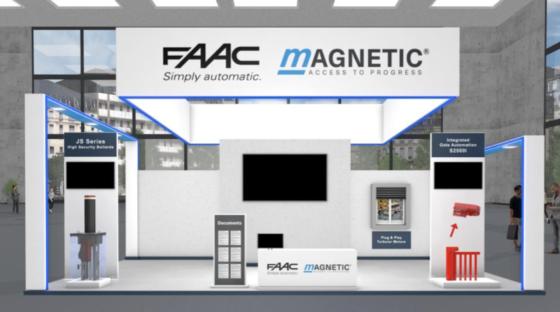 FAAC alla fiera R+T Digital: continuità e debutto nuovi prodotti