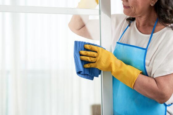 Le regole fondamentali per la pulizia dei serramenti in PVC