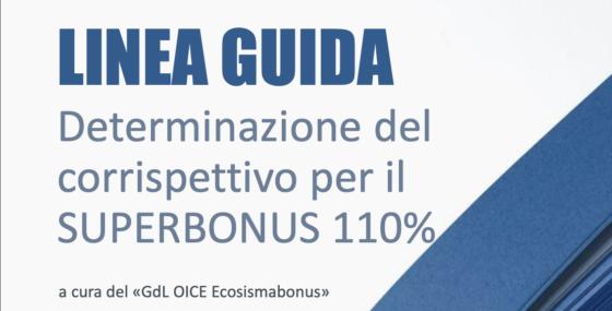 Parcelle professionisti Superbonus 110%. Oice pubblica guida