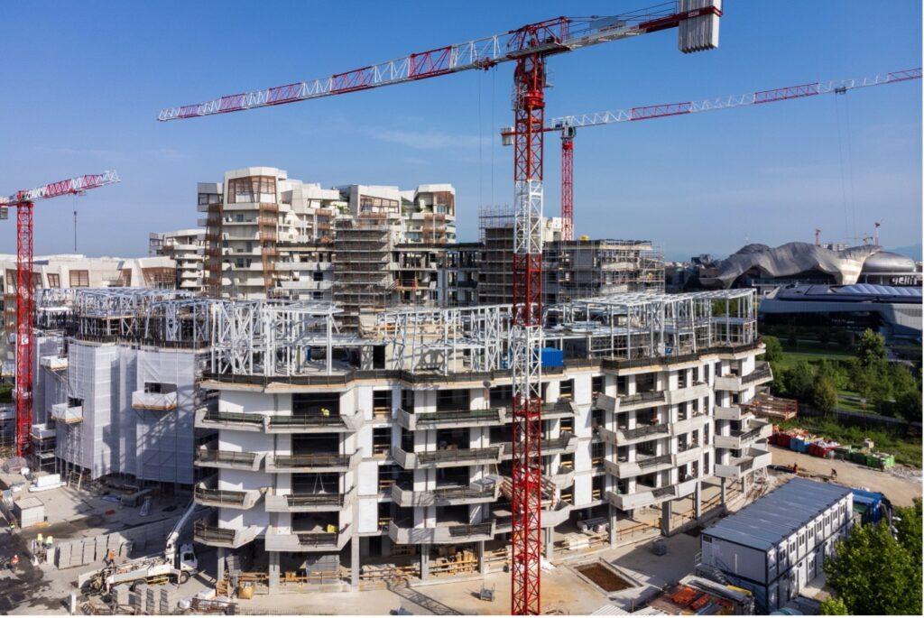 Residenze Libeskind II di CityLife scelgono Marchio Posa Qualità Serramenti