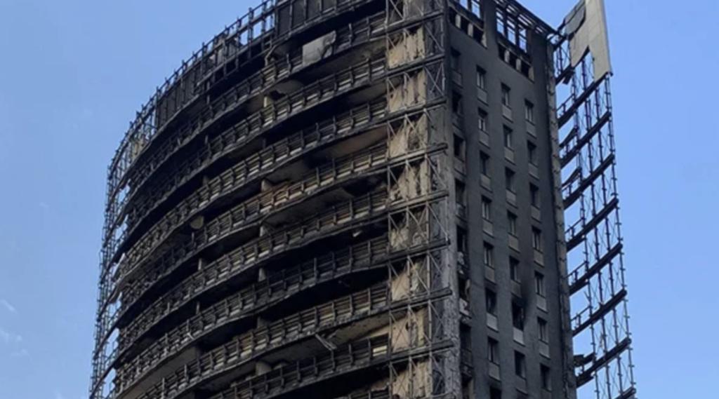 Fivra su incendio Torre dei Moro